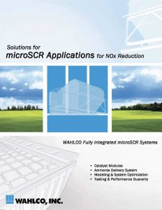 microSCR Applications for NOx Reduction Brochure